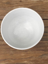 Load image into Gallery viewer, Pretty FRENCH Vintage Ceramic White Bowl