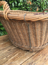 Load image into Gallery viewer, Huge French Vintage Laundry Basket - Nice Strong Condition