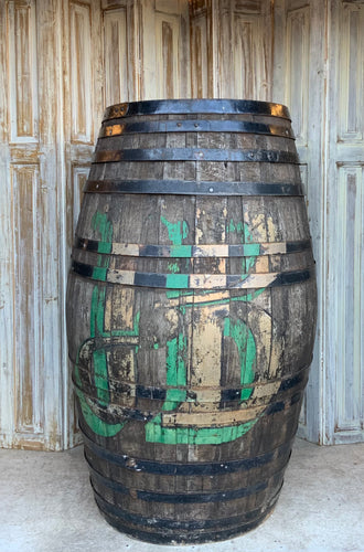 Antique Whisky Barrel - HUGE