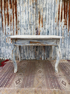 Scandinavian Kitchen Table - Scraped Patina