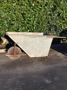 Vintage English Country House Wheelbarrow great Florist display