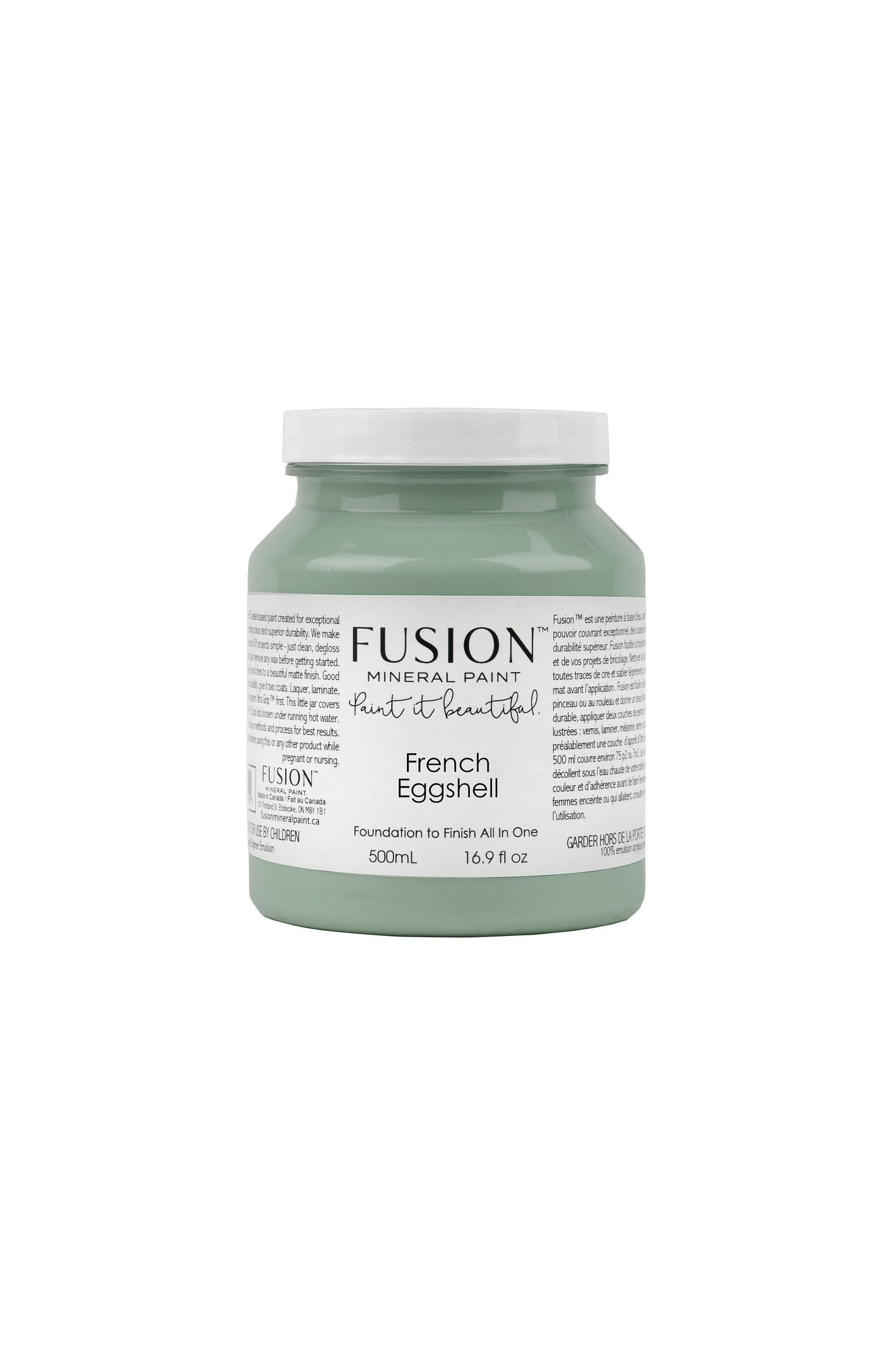 French Eggshell FUSION Mineral Paint - Furniture Paint