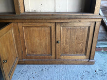 Load image into Gallery viewer, English Antique Victorian Oak Dresser - Fabulous English Country Cottage Antique