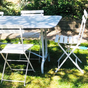 French Vintage Bistro Garden Chairs