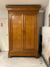 Load image into Gallery viewer, Antique French Oak Armoire Wardrobe