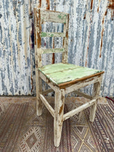 Load image into Gallery viewer, Antique Chippy Paint Chair