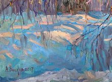 "Load image into Gallery viewer, Extraordinary ""Winter"" Modern Russian Oil on Canvas"