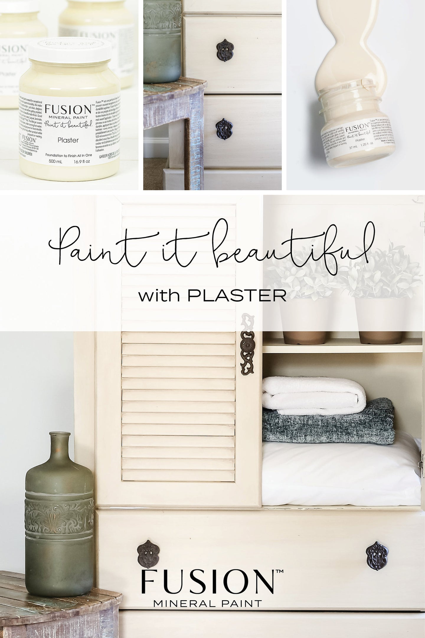 Plaster FUSION Mineral Paint