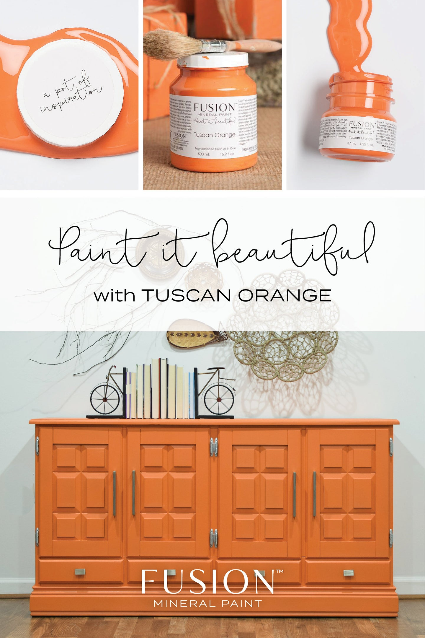 Tuscan Orange FUSION Mineral Paint