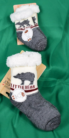 bear family winter socks - Sparta Country Candles