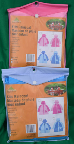 kids raincoats - Sparta Country Candles