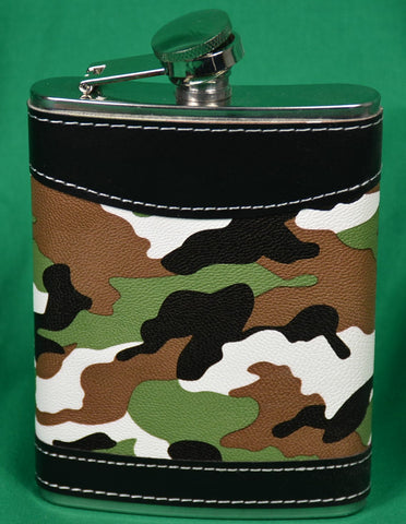camo flask - Sparta Country Candles