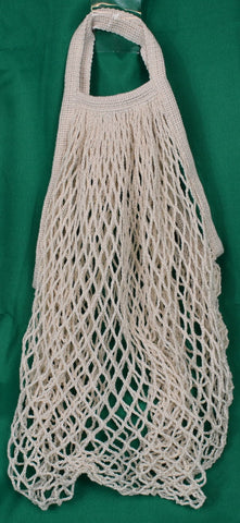 Net bag (green, cream, black) - Sparta Country Candles