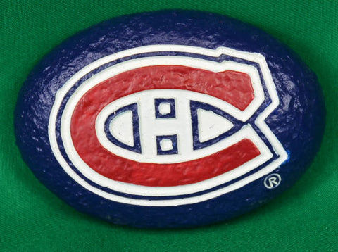 NHL hockey worry stone - Sparta Country Candles