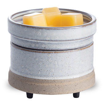 Rustic White Candle Warmer - Sparta Country Candles