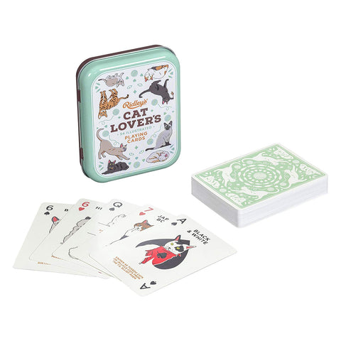 Cat Lover's Card Deck