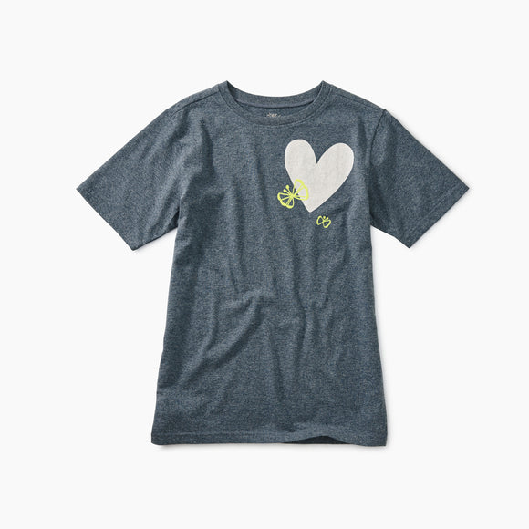 Flutter Heart Graphic Tee