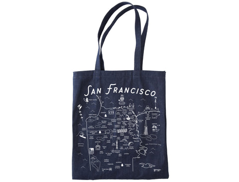 San Francisco Denim Tote