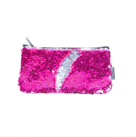Pink Magic Sequin Pouch