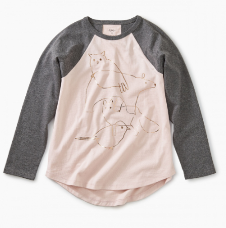 Sketchbook Raglan Tee
