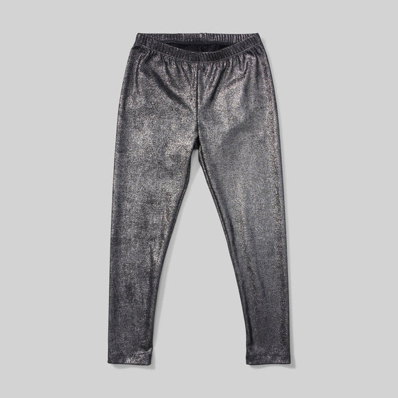 Diesel Black Sparkle Leggings