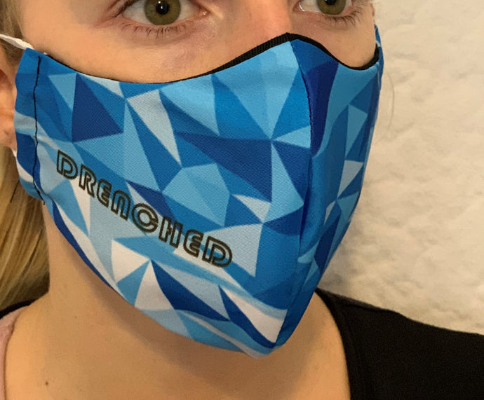 BLUE DEFLECTION Face Mask