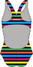 Load image into Gallery viewer, RAINBOW STRIPES Racerback
