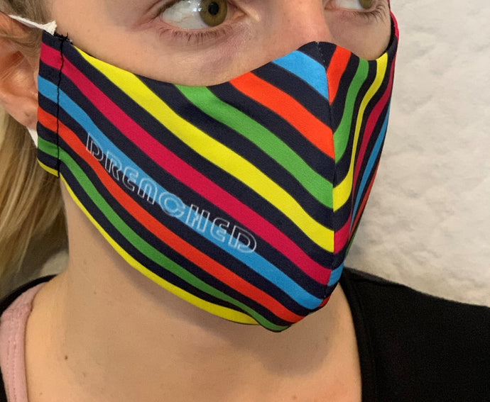 RAINBOW STRIPED Face Mask