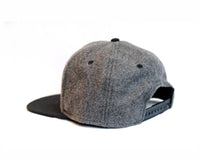 Breton Brewing Snap Back - Black/Grey