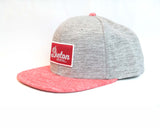 Breton Brewing - Snap Back - Grey/Red