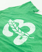 Men's 'B' Crew Neck Tee - Green