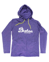 Lightweight Hooded Tee - Purple
