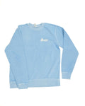Unisex Crew Neck Sweater - Light Blue