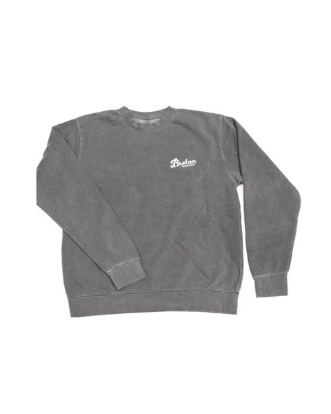Unisex Crew Neck Sweater - Grey