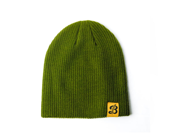 Both Way Beanie - Green