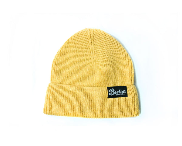 Black Label Beanie - Yellow