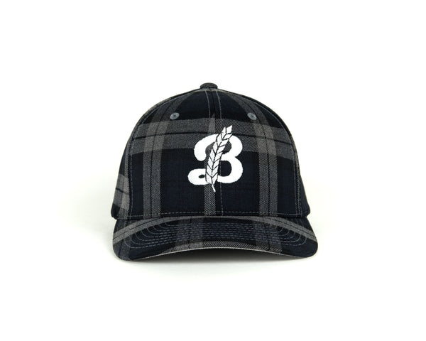 FlexFit Baseball Hat - Plaid