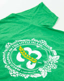 Men's 'Magic' Crew Neck Tee  - Green