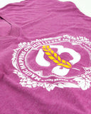 Women's 'Magic' V-Neck Tee - Pink