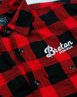 Men's Plaid Flannel - Red