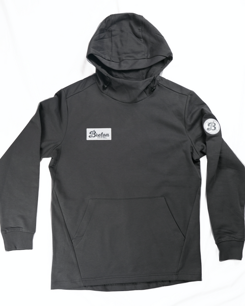 Patch Hoodie - Charcoal