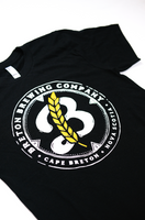 Men's Round Logo Tee - Black