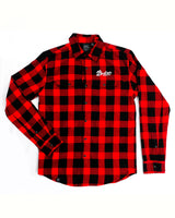 Women's Plaid Flannel - Red