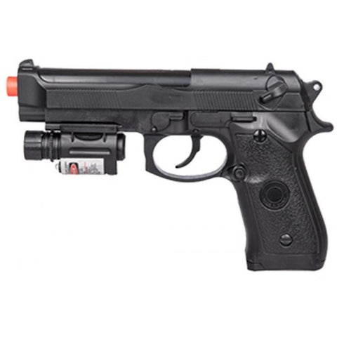 P2218B Airsoft Spring Powered Pistol with Laser