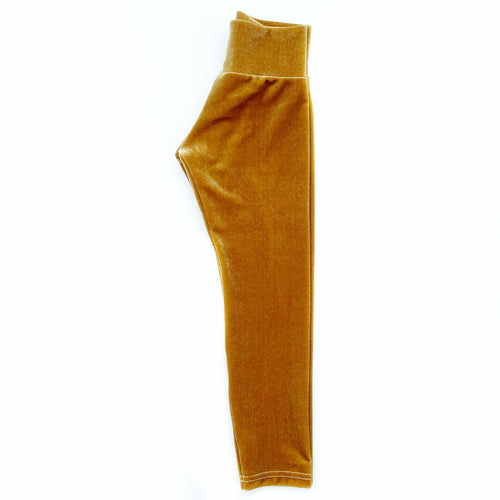 Golden Velvet Skinnies