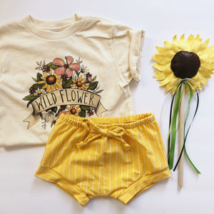 Sunshine Stripe Shorties