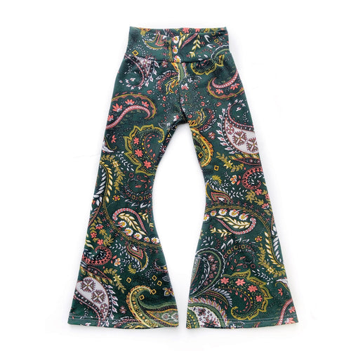 Last Chance - Paisley Bell Bottoms