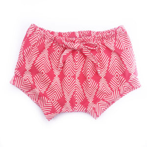 Coral Feather Shorties