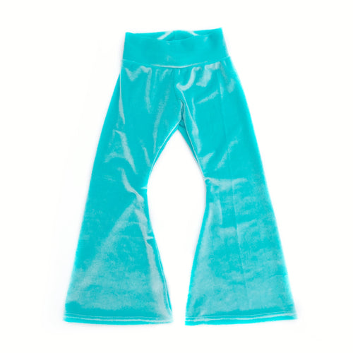 Ocean Velvet Bell Bottoms