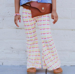 FLASH Sale Retro Petals Bell Bottoms